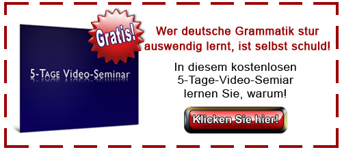 Deutsch lernen Video Seminar