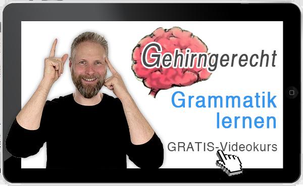 Gehirngerecht Grammatik Lernen