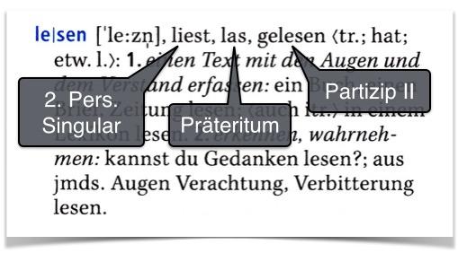 Deutsche Verben lernen