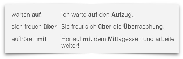 Deutsch lernen mit Mnemotechniken - Mnemonische Beispielsätze