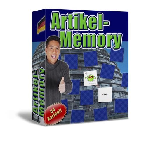 Deutsch lernen Artikel-Memory