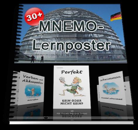 Deutsch lernen mit Mnemotechniken - Lernposter