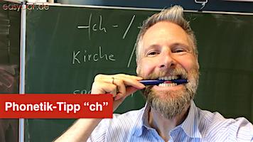 Deutsche Phonetik – ch (Teil 1)