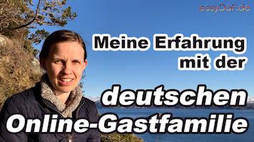 Deutsche Gastfamilie – Runas Erfahrung