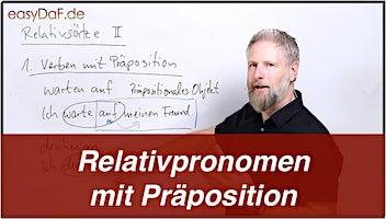 Relativsätze mit Präposition